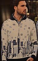Теплый свитер мужской
