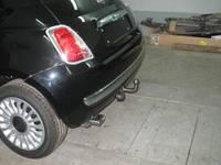Фаркоп условно-съемный (ТСУ, тягово-сцепное устройство) FIAT 500 (Фиат) (Полигон-Авто)