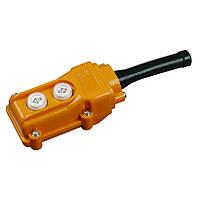 Пульт керування ІЕК ПКТ-61 на 2 кнопки ІР54