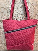 Женские сумка стеганная Стильная cумкa-мода/Дутая Сумка женская спортивная только оптом, фото 1