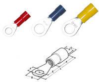 Кабельные наконечники кольцевые с изоляцией