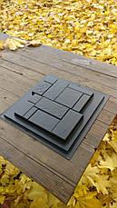 """Форма для изготовления искусственного камня """"Кирпич конструктор"""", фото 3"""