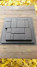 """Форма для изготовления искусственного камня """"Кирпич конструктор"""", фото 2"""