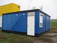 Контейнер офисный (синий,6*6 м.)