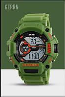Водостойкие часы Skmei 1233 зеленые, фото 1