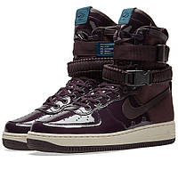 Оригинальные кроссовки Nike SF Air Force 1 SE Premium W Port Wine