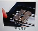 Подставка держатель штатив для фена паяльной станции плат и ребола микросхем Kaisi, фото 6