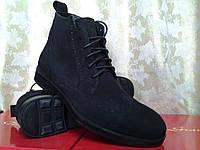 Стильные демисезонные нубуковые ботинки Lioneli(Faro), фото 1