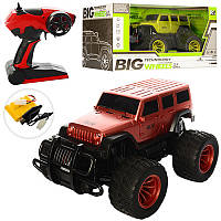 Джип на радиоуправлении Big Wheels Джип 23711, 2 цвета: 33см, аккумулятор в комплекте