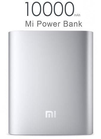 Power bank Xiaomi 10000mAh ORIGINAL Silver