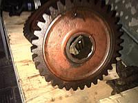 Продам шестерню колёсную Z=35 автогрейдера ГС-14.02, ДЗ-180