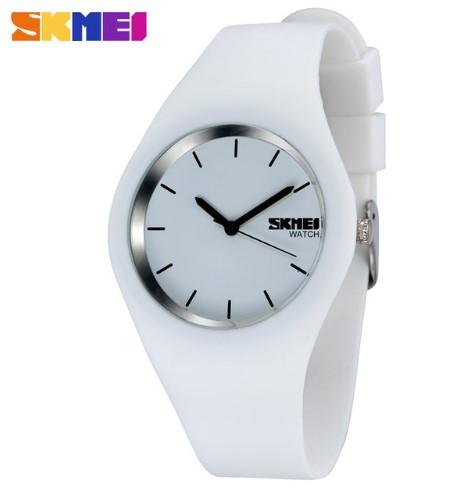 Женские наручные часы Skmei 9068 белые