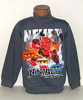 Гольф для мальчика  с начесом Ниндзяго,ниндзя Ninjago,Нинзяго