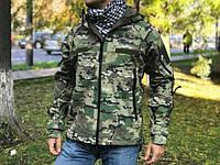 Куртка мембранная Marson Softshell Tactical (Мультикам)
