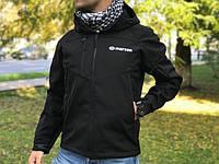 Куртка мембранная Marson Softshell Tactical (черная), фото 1