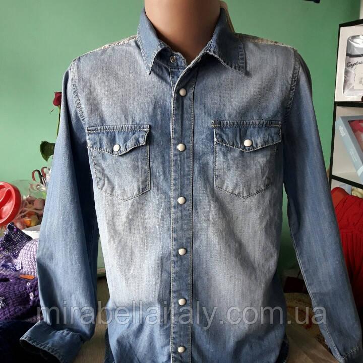 newest 46ca0 a084a Джинсовая рубашка Heach Junior: продажа, цена в Мариуполе. рубашки для  мальчиков от
