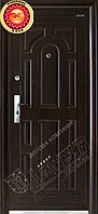 """Входная дверь """"Abwehr"""" - модель Western 12-4 (Молотковое покрытие, утепленные)"""