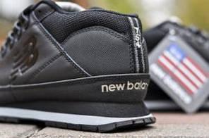 Мужские кроссовки New Balance 754 черные топ реплика, фото 2