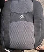 Автомобильные чехлы на сидения PREMIUM CITROEN BERLINGO I 2002-08г.з/сп закрытый тыл и сид.2/3 1/3;5подгол.