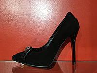 Туфли Mumaren. На высокой шпильке с натуральной замши