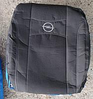 Автомобильные чехлы на сидения PREMIUM OPEL VIVARO 1+2 2001г… 3подгол;2варианта перередних подлокотников