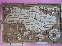 Магнит на холодильник карта Украины