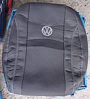 Автомобильные чехлы на сидения PREMIUM VOLKSWAGEN TRANSPORTER T5 1+2 2003г…3подголовника;airbag