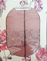 ТМ TAG Набор махровых полотенец Asiya rouse
