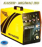 """Сварочный инверторный полуавтомат """"KAISER"""" MIG/MAG-265 A"""
