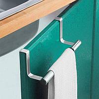Накладная вешалка для полотенец на дверь