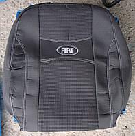 Автомобильные чехлы на сидения PREMIUM FIAT DOBLO 1+1 2010г… 2подголовника;airbag