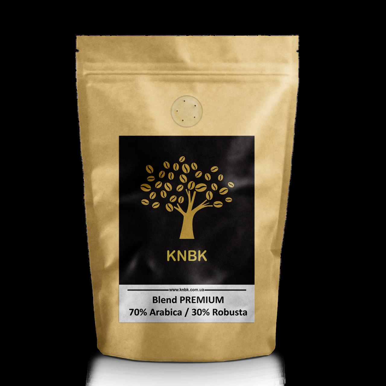Купаж сортов KNBK PREMIUM Арабика 70 % / Робуста 30 % 500гр. Свежеобжаренный кофе