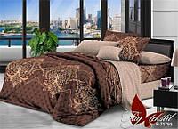 Постельное белье, семейный комплект, ткань ранфорс, состав хлопок, пододеяльник (2 шт) 150x215,  R71793