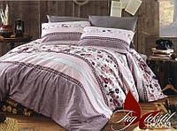 Постельное белье, семейный комплект, ткань ранфорс, состав хлопок, пододеяльник (2 шт) 150x215,  R2043