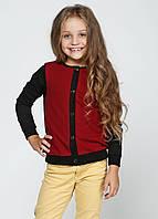 Кардиган школьный для девочки Размер 122 - 146 см Разные цвета