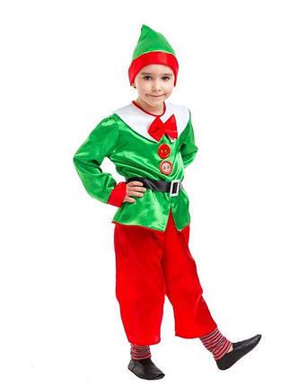 Карнавальный костюм Эльф Новогодний, фото 2