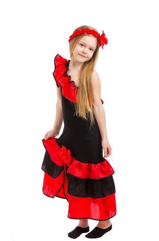 Карнавальный костюм Испанка, Танцовщица