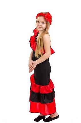 Карнавальный костюм Испанка, Танцовщица, фото 2