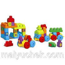 Конструктор Mega Bloks Мега Блокс First Builders Поезд ABC DXH35