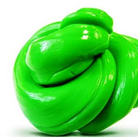 Хендгам (Handgum) Зеленый 80г, умный пластилин, подарок любимому человеку