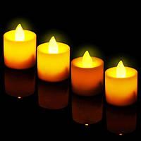 Праздничный Светильник Статуэтка Новогодняя Свеча Набор Свечей для Атмосферы Нового Года Рождества 24 шт, фото 1