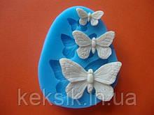 Молд силикон Бабочки набор