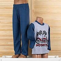 Детская пижама на мальчика Турция. Moral 07-4 6/7. Размер на 6/7 лет.