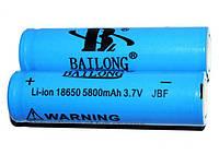 Аккумулятор Li-ion Bailong 18650 blue 5800mAh