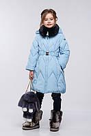 Зимнее пальто на девочку Мегги