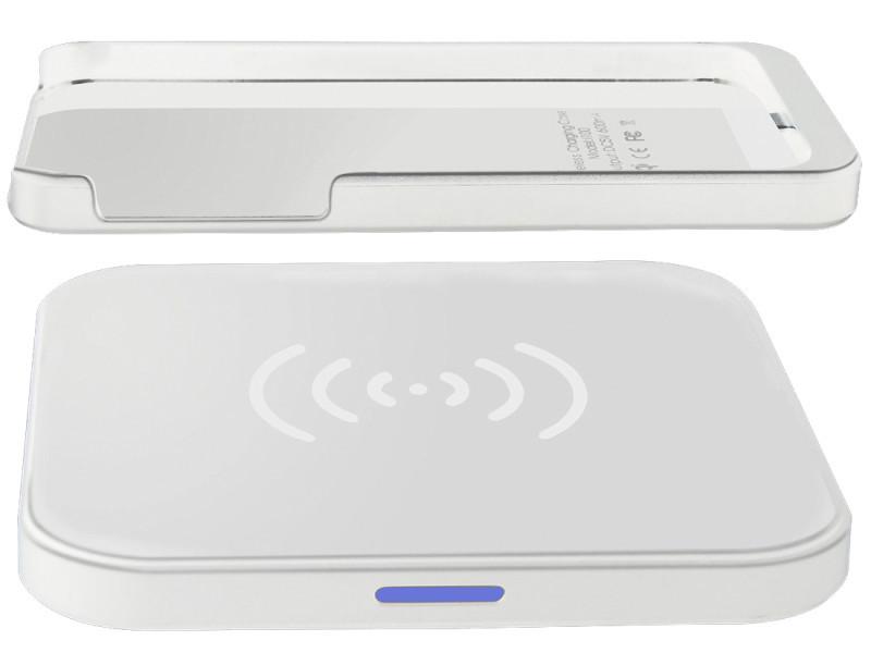 Беспроводное зарядное устройство  GOLF Wireless charger GF-QI White