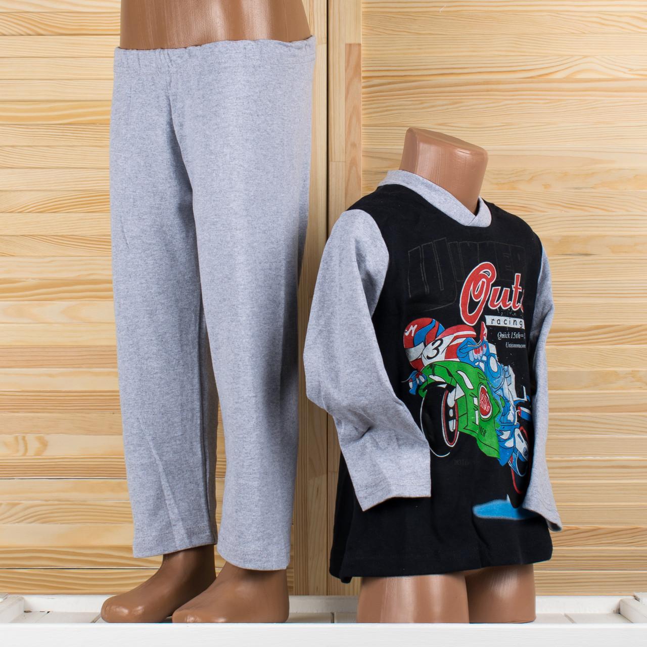 Детская пижама на мальчика Турция. Moral 07-6 2/3. Размер на 2/3 года.