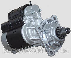 Стартер редукторний для навантажувача Балканкар 4 циллиндра (12В/2,8 кВт) Jubana