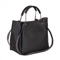Женская сумка с двумя парами ручек Tessera T37923-101 черная