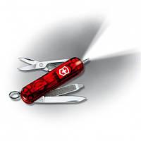 Нож Victorinox Signature Lite 0.6226.T полупрозрачный красный, фото 1